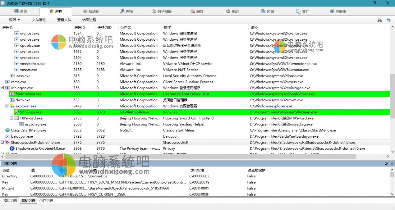 火绒剑独立提取版 v5.0.1.1 系统安全分析利器 20200702-小米软件库