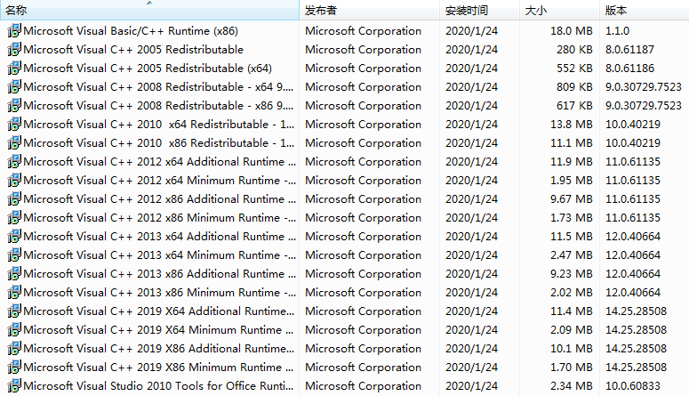 VC2005,VC2008,VC2010,VC2012,VC2015,VC2017,V2019,SystemRedist,MSVCVB,Visual C Redist运行库,VC 运行库合集包,微软运行库和游戏支持库,Microsoft Visual C 运行库合集包,微软系统运行库集合,微软系统运行库文件,Visual C 运行库合集,VC 运行库组件,VC运行库组件,VC运行库合集,VC 运行库合集,VWindows微软常用运行库合集,微软运行库大全,微软运行库合集,VC 运行库,系统必备组件,游戏运行库,软件库文件,软件运行库,所有运行库大全,所有软件库文件,所有VC库,VC 库,vc运行库,VB/VC库文件,微软基础类型库文件VisualCppRedist AIO